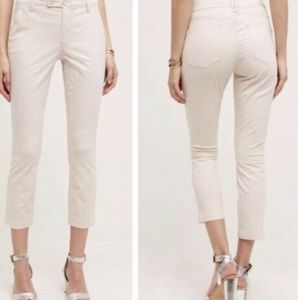 Anthropologie Pilcro Skinny Ankle Pants Sz 30